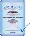 Zertifikat Implantat-Akupunktur